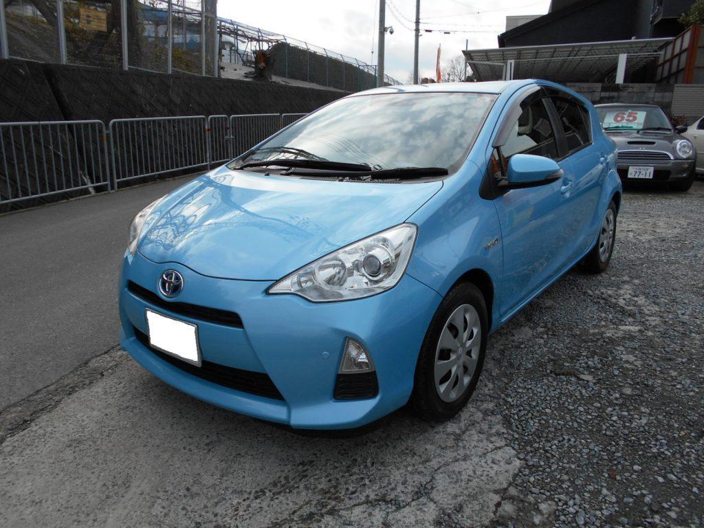 トヨタ アクア1.5 S 車両本体価格55.0万円
